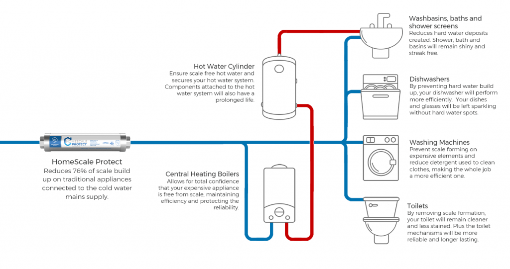 HomeScale Protect with a system or conventional boiler